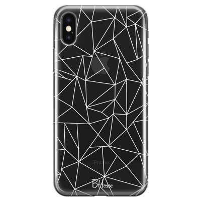 Lines White Net Kryt iPhone X/XS