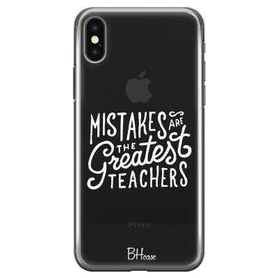 Mistakes Kryt iPhone X/XS