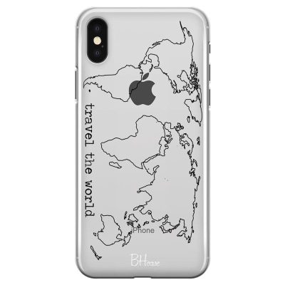 Travel The World Kryt iPhone X/XS