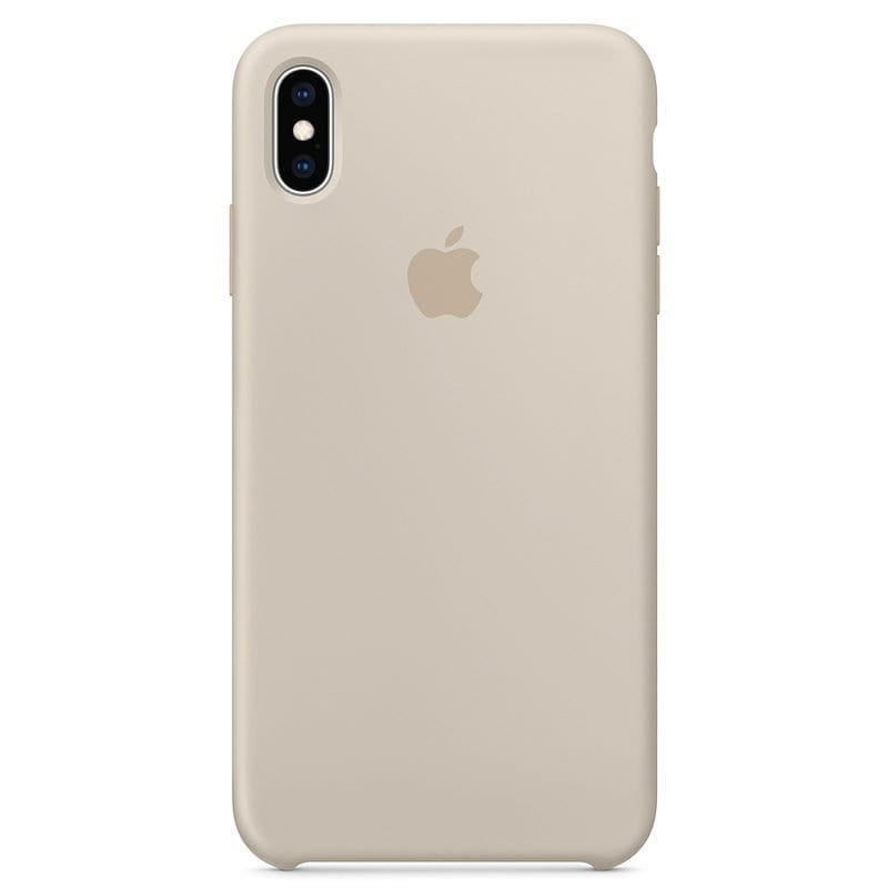 Apple Stone Silicone Kryt iPhone XS Max