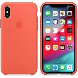 Apple Nectarine Silicone Kryt iPhone XS