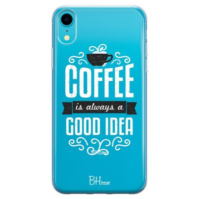 Coffee Is Good Idea Kryt iPhone XR