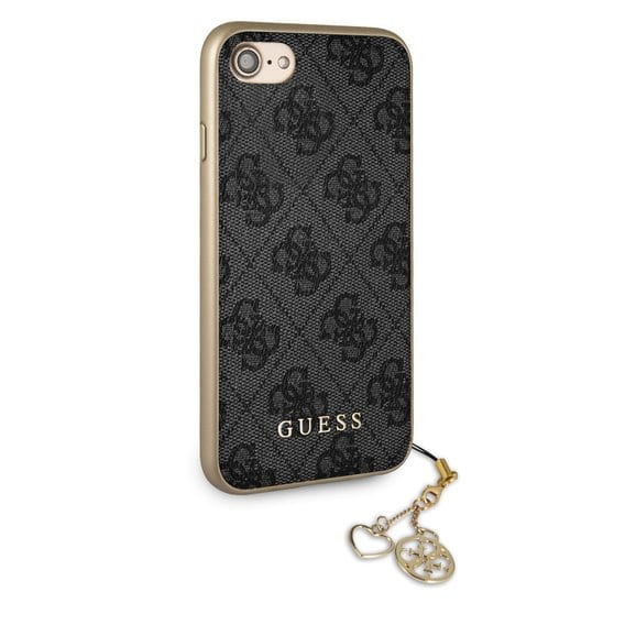 Guess 4G Grey Charms Kryt iPhone 8/7/6/SE 2 2020