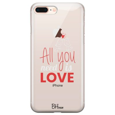 All You Need Is Love Kryt iPhone 7 Plus/8 Plus