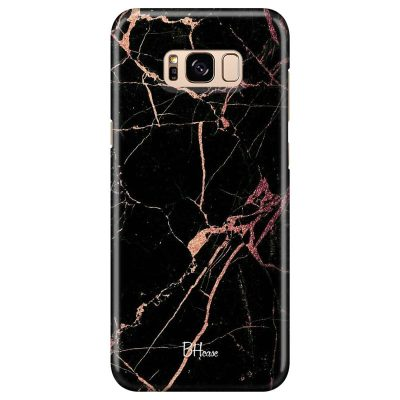 Black Rose Marble Kryt Samsung S8 Plus