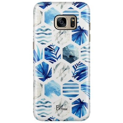 Blue Design Kryt Samsung S7 Edge