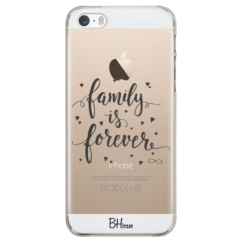 Family Is Forever Kryt iPhone SE/5S