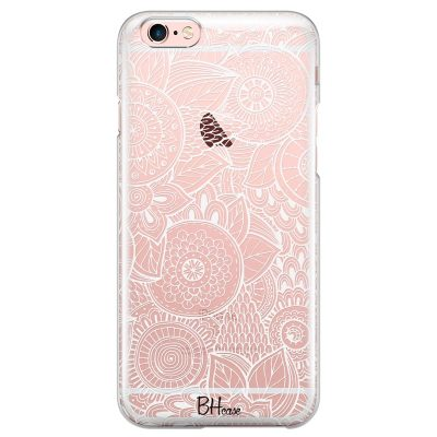 Flower Pattern Kryt iPhone 6 Plus/6S Plus