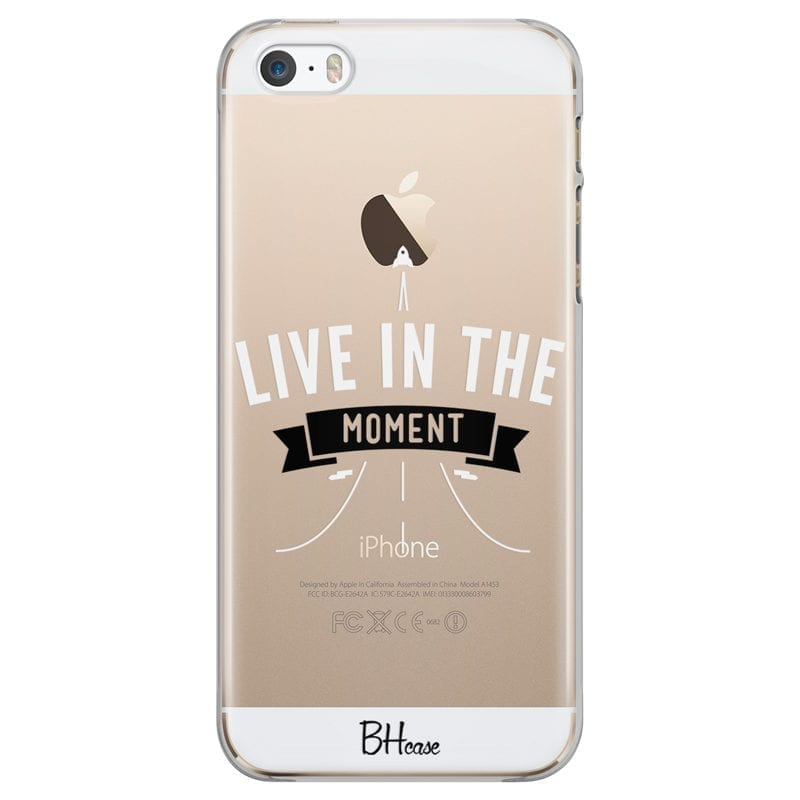 Live In The Moment Kryt iPhone SE/5S