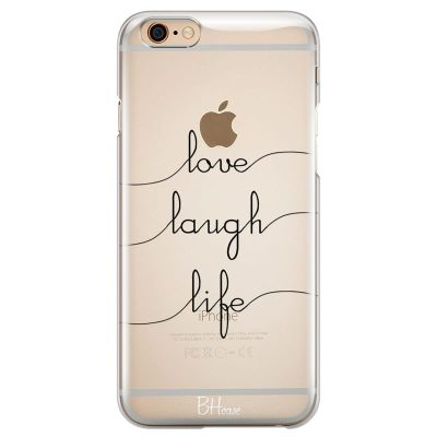 Love Laugh Life Kryt iPhone 6 Plus/6S Plus