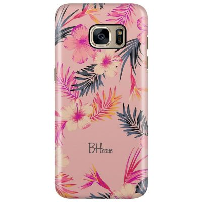 Tropical Pink Kryt Samsung S7 Edge