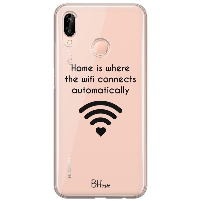 Home Is Where The Wifi Connects Automatically Kryt Huawei P20 Lite