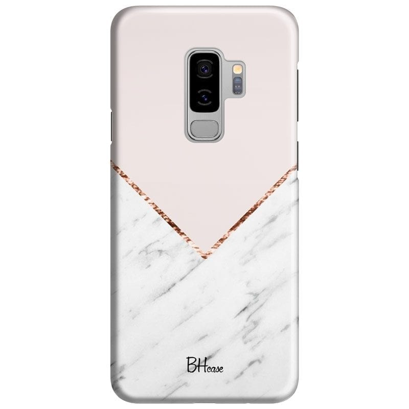 Marble And Pink Color Kryt Samsung S9 Plus