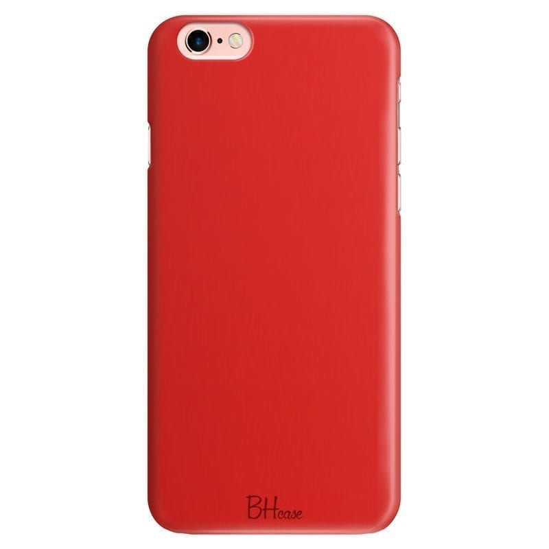 Red Apple Color Kryt iPhone 6 Plus/6S Plus