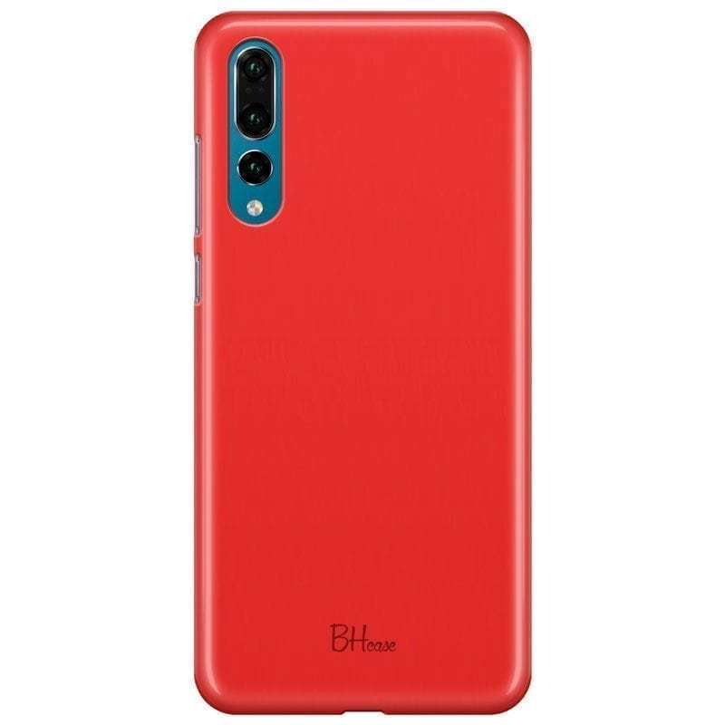 Red Apple Color Kryt Huawei P20 Pro