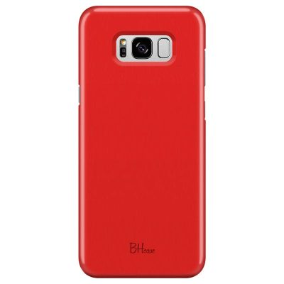 Red Apple Color Kryt Samsung S8