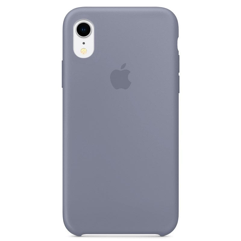 Apple Lavender Gray Silicone Kryt iPhone XR