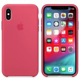 Apple Hibiscus Silicone Kryt iPhone XS