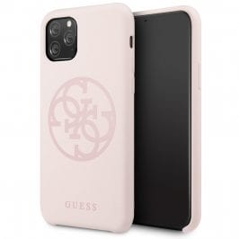 Guess 4G Tone Light Pink Kryt iPhone 11