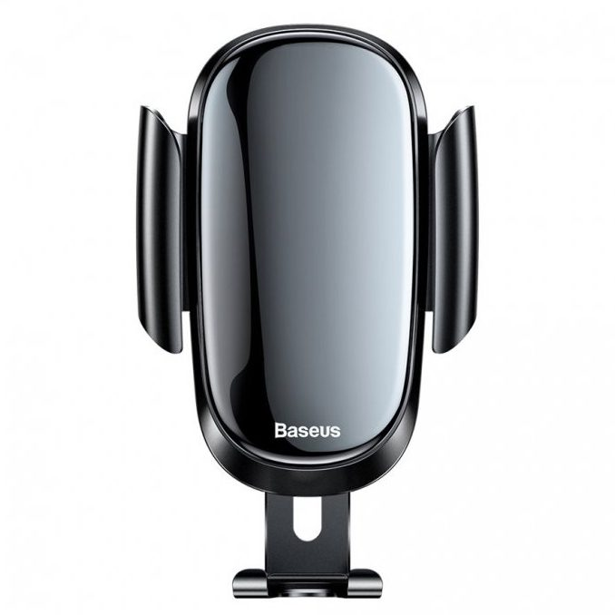 Baseus Future Gravity Car Mount Holder Black - For Round Air Outlet
