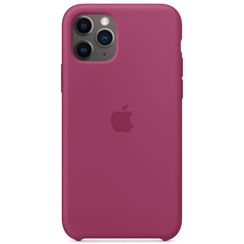 Apple Pomegranate Silicone Kryt iPhone 11 Pro