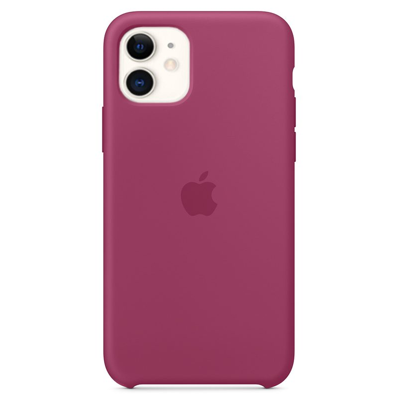 Apple Pomegranate Silicone Kryt iPhone 11