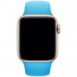 Silikónový Náramok Apple Watch 42/44mm Blue Small