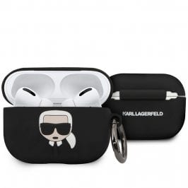 Karl Lagerfeld AirPods Pro Silicone Kryt Black