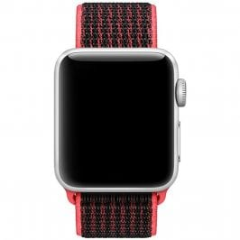 Nylonový Náramok Apple Watch 38/40mm Black Pink