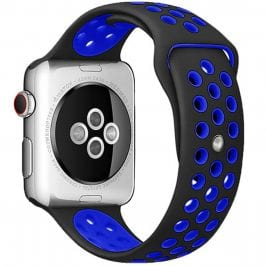 Sport Náramok Apple Watch 42/44mm Black/Blue Small