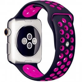 Sport Náramok Apple Watch 38/40mm Black/Pink Large