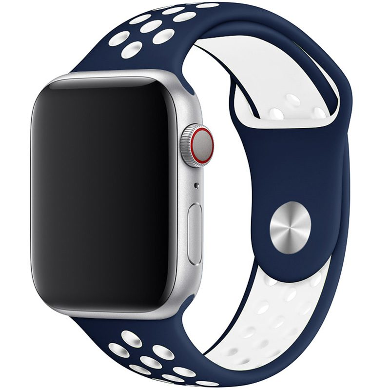 Sport Náramok Apple Watch 42/44mm Blue/White Large