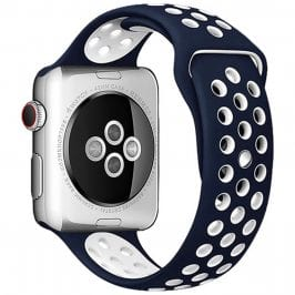Sport Náramok Apple Watch 38/40mm Blue/White Large