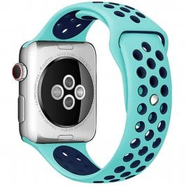 Sport Náramok Apple Watch 42/44mm Green/Blue Large