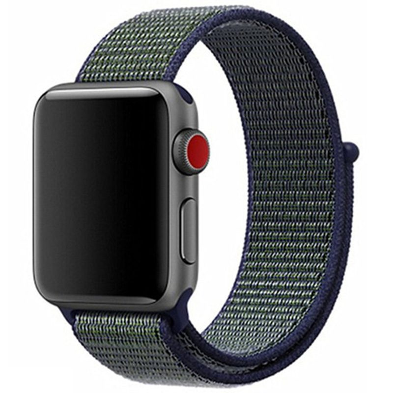 Nylonový Náramok Apple Watch 42/44mm Fog Gray