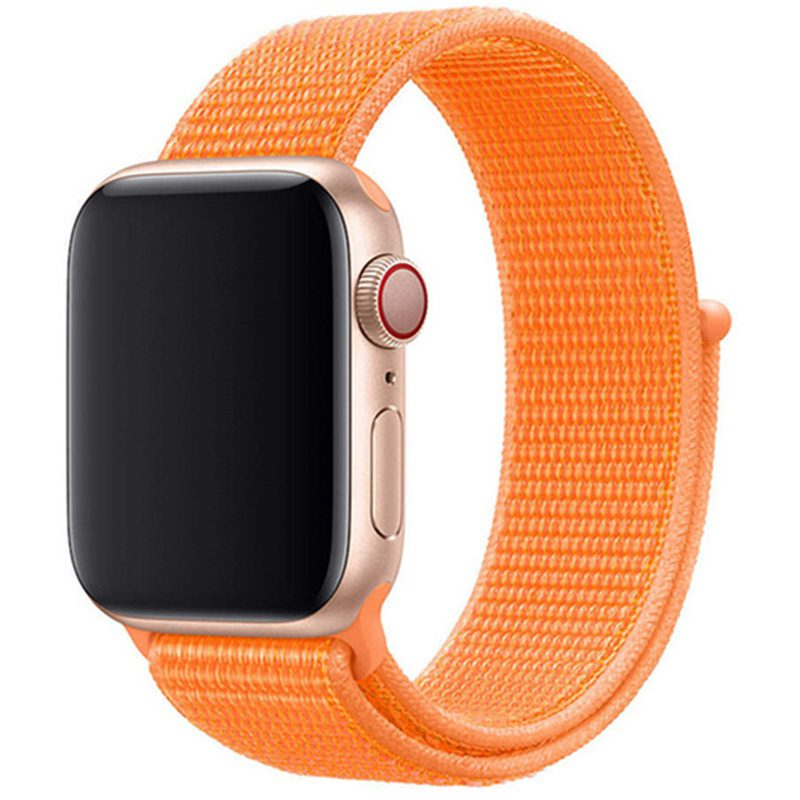 Nylonový Náramok Apple Watch 42/44mm Papaya
