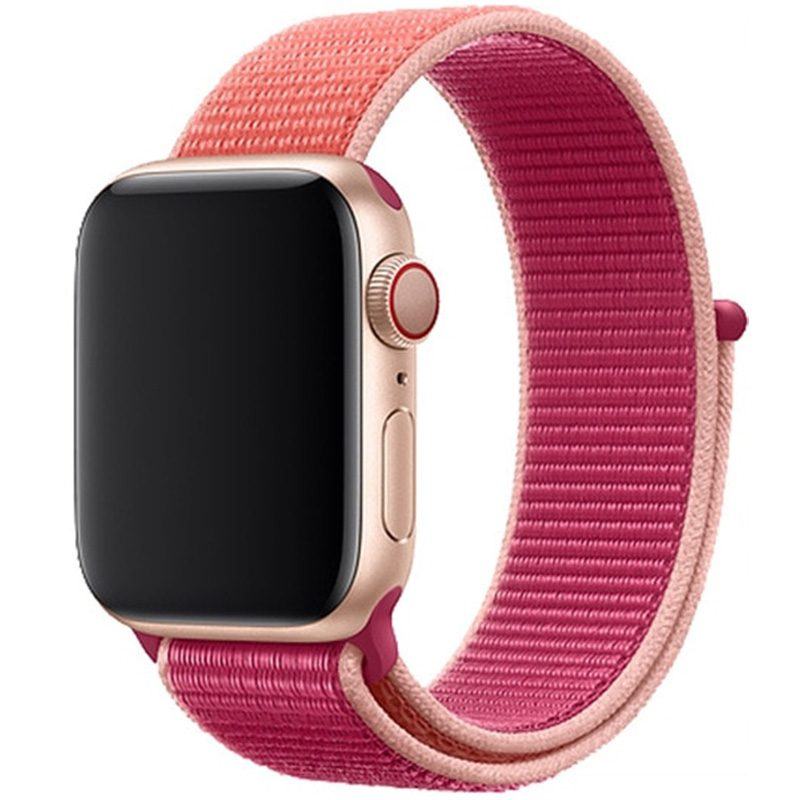 Nylonový Náramok Apple Watch 42/44mm Pomegranate