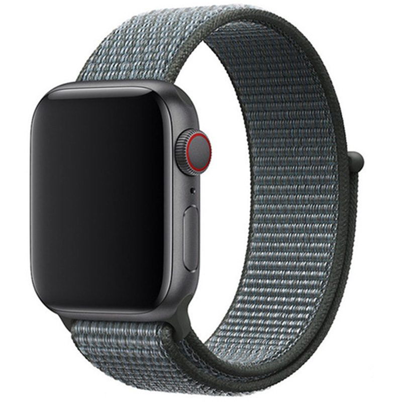 Nylonový Náramok Apple Watch 42/44mm Storm Gray