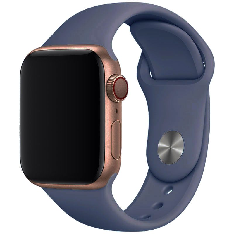 Silikónový Náramok Apple Watch 42/44mm Alaskan Blue Large