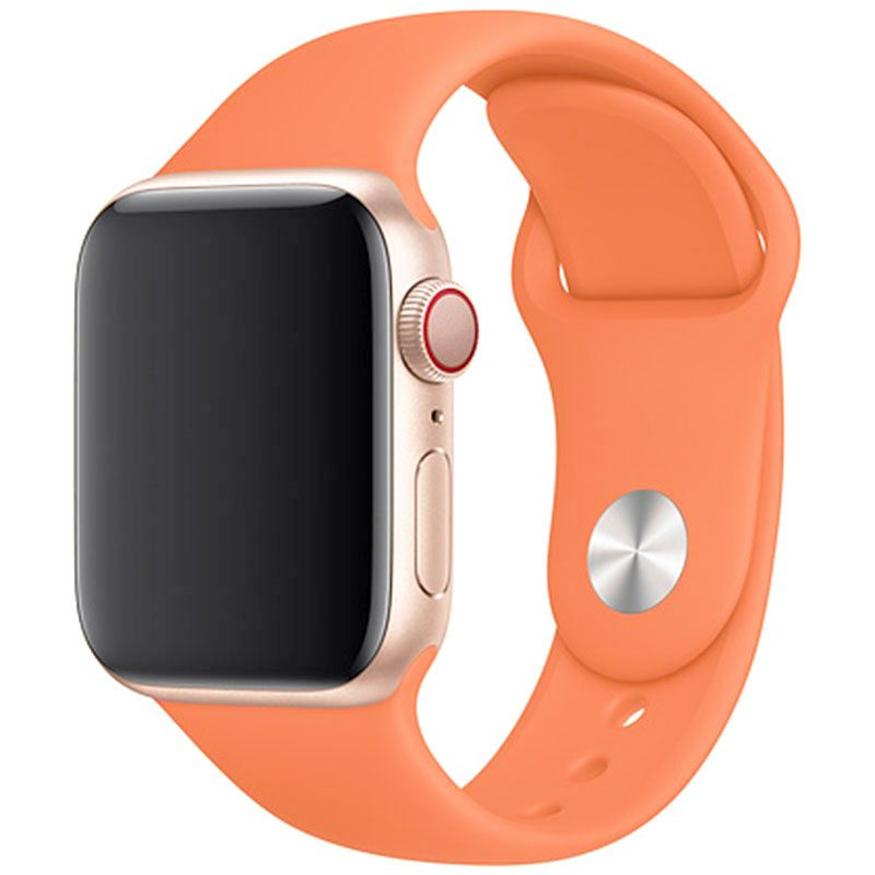 Silikónový Náramok Apple Watch 42/44mm Papaya Large