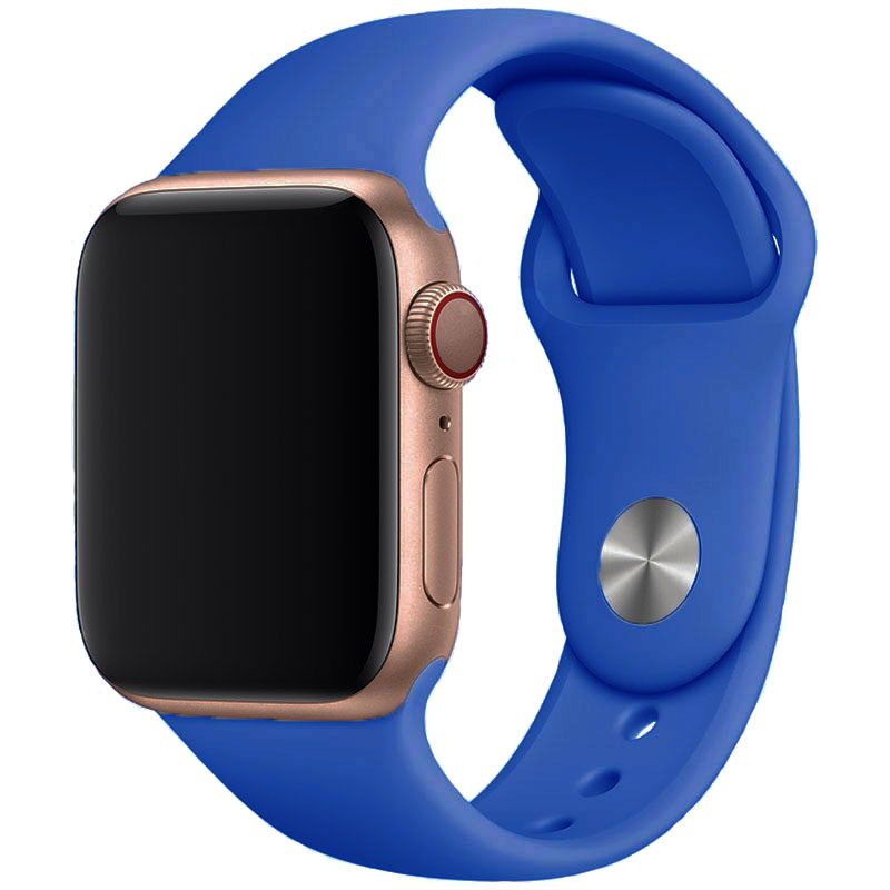 Silikónový Náramok Apple Watch 42/44mm Royal Blue Large
