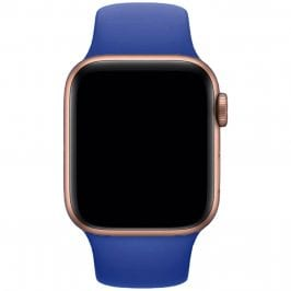 Silikónový Náramok Apple Watch 42/44mm Royal Blue Small