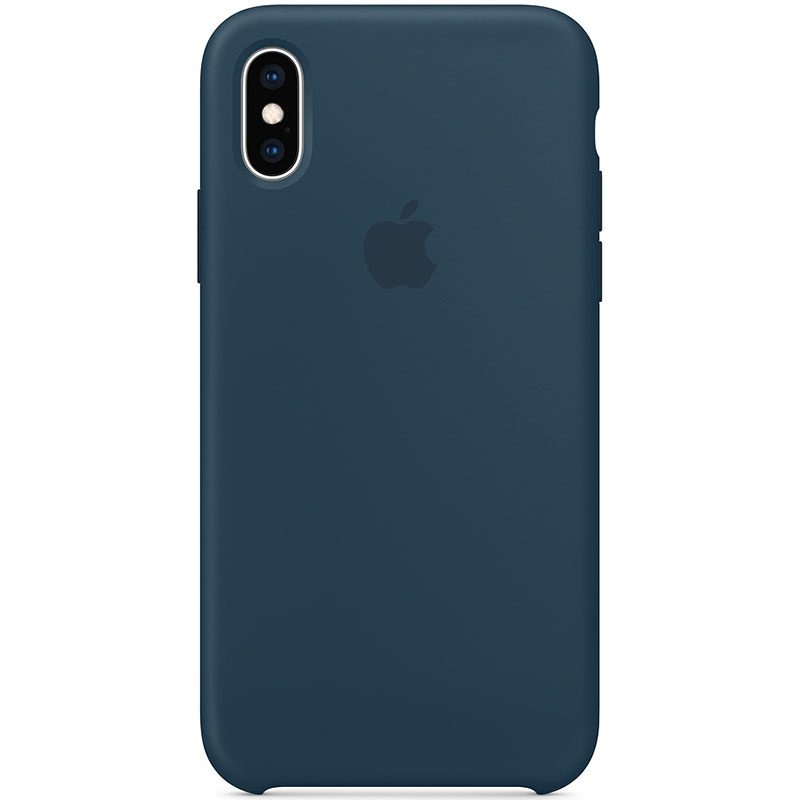 Apple Pacific Green Silicone Kryt iPhone XS Max