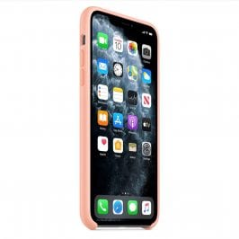 Apple Grapefruit Silicone Kryt iPhone 11 Pro Max