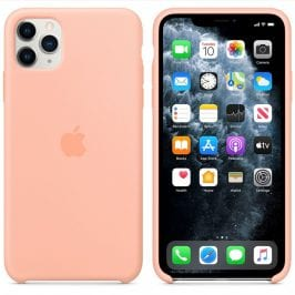 Apple Grapefruit Silicone Kryt iPhone 11 Pro