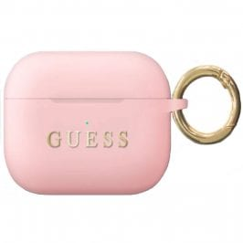 Guess AirPods Pro Silicone Case Pink