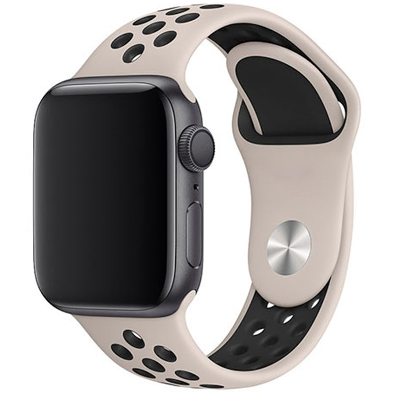Sport Náramok Apple Watch 42/44mm Desert Sand/Black Large
