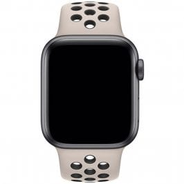 Sport Náramok Apple Watch 42/44mm Desert Sand/Black Small