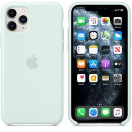 Apple Seafoam Silicone Kryt iPhone 11 Pro Max