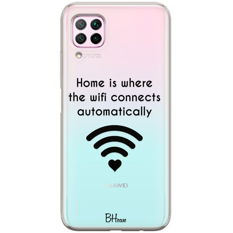 Home Is Where The Wifi Connects Automatically Kryt Huawei P40 Lite
